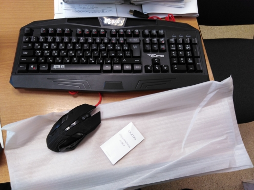 Клавиатура и мышь Qumo Respawn K28/M28