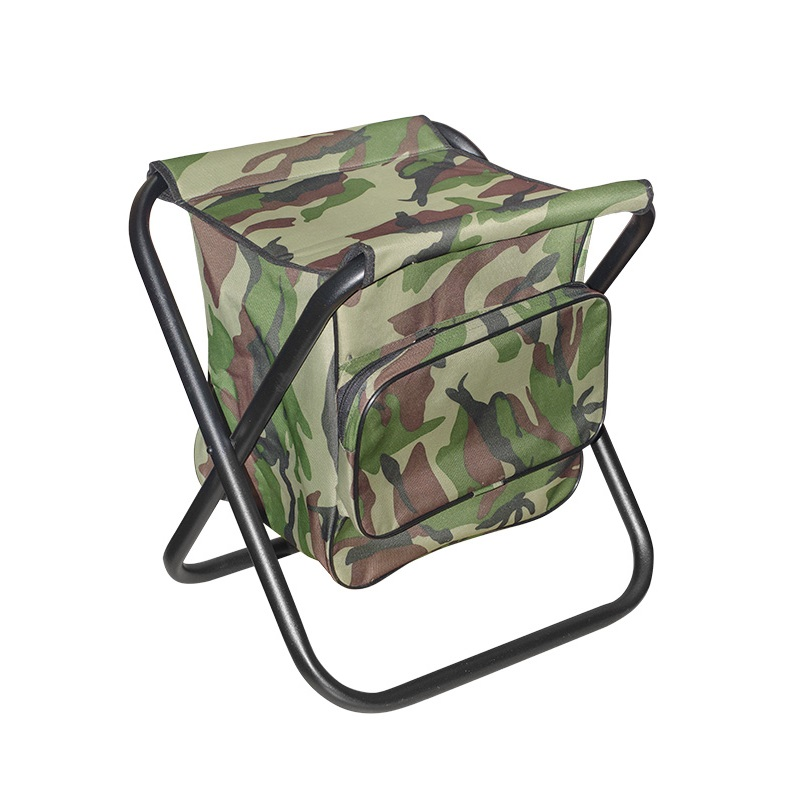 Stool Folding Max Steel Large With Bag Durable In Use