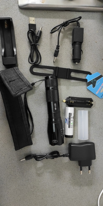 LED Outdoor Survival Pocket Flashlight photo review