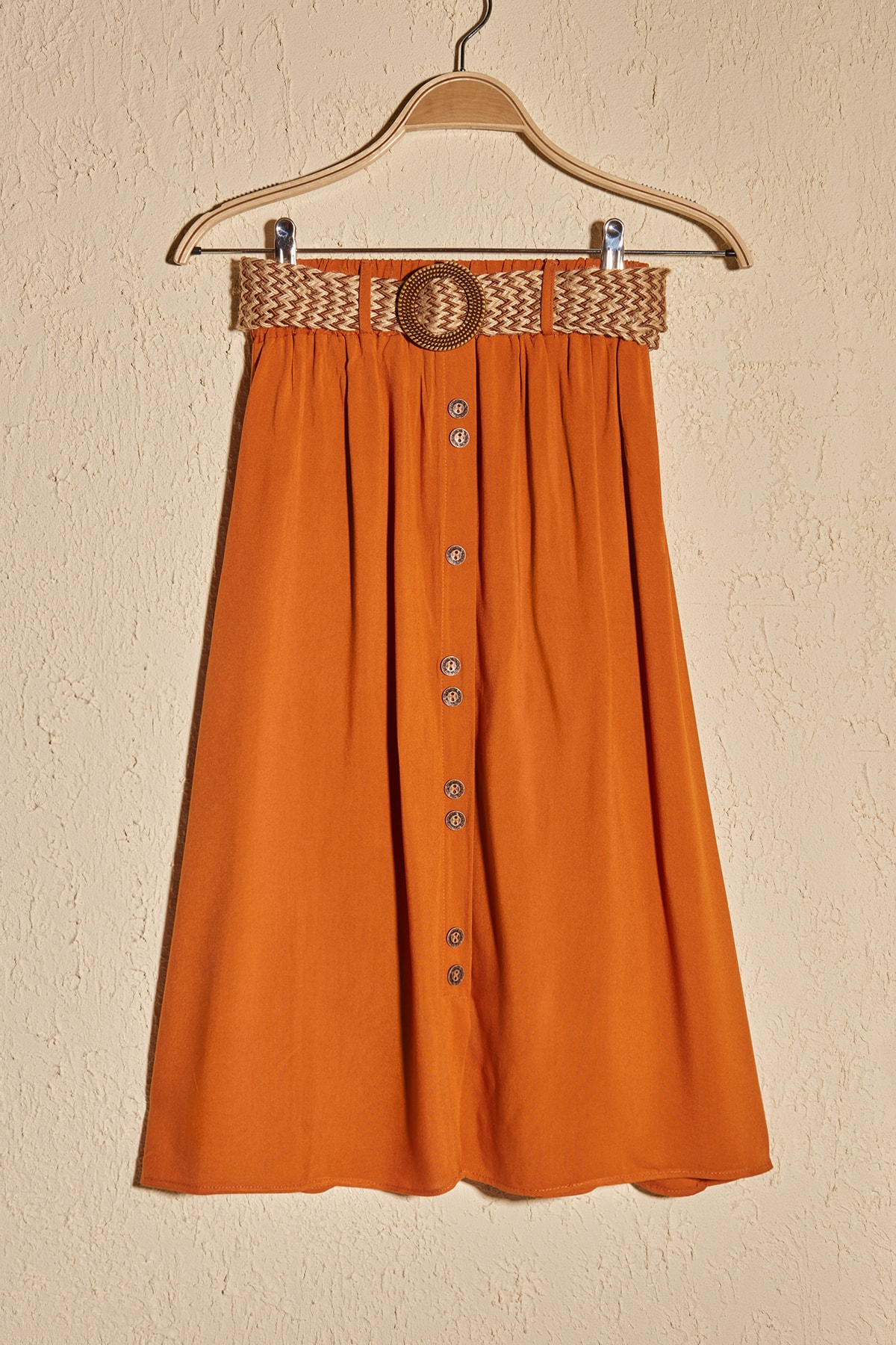 Trendyol Belt Detail Skirt TWOSS20ET0615