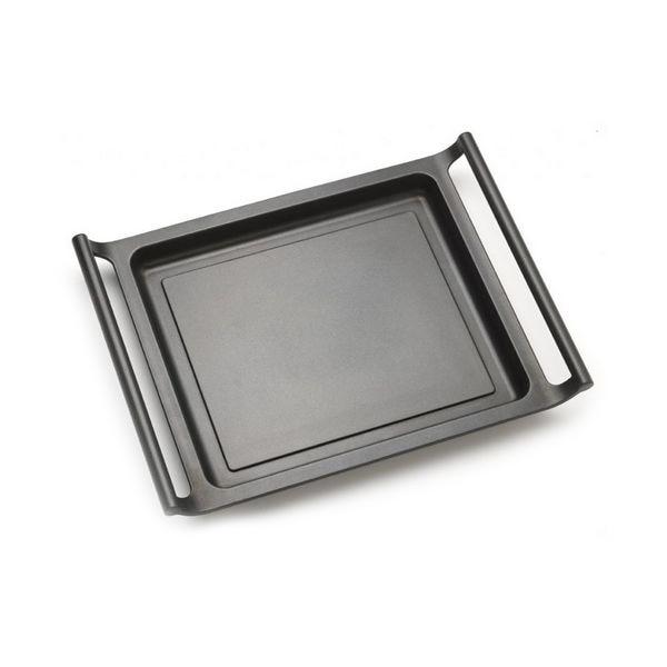 Flat Grill Plate BRA A271545 45 Cm Black