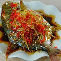 清蒸金鲳鱼的做法图解4