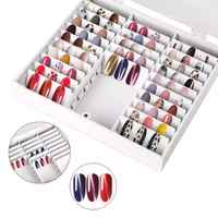 Storage Box nail, false nail, color display, Holder for nail, storage box jewelry design decorative container display in Russia