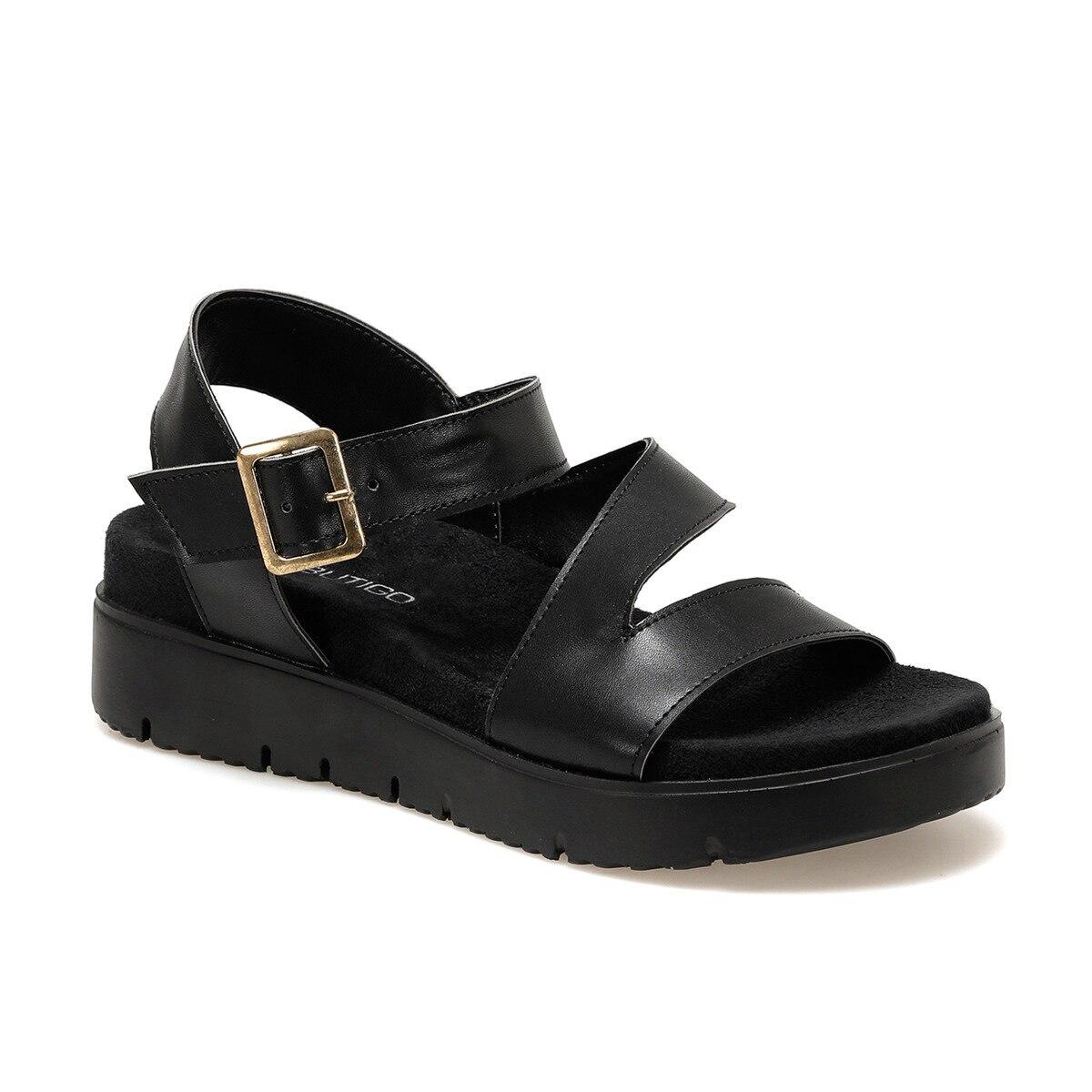 FLO 20S-619 Black Women Sandals BUTIGO