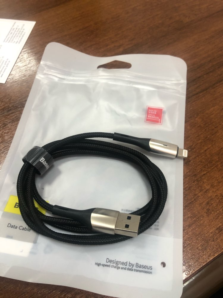 Baseus Lighting USB Cable For iPhone Xs Max Xr X S 2.4A Fast Charging Data Cable For iPhone 8 7 6 iPad Mobile Phone Charger Cord-in Mobile Phone Cables from Cellphones & Telecommunications on AliExpress