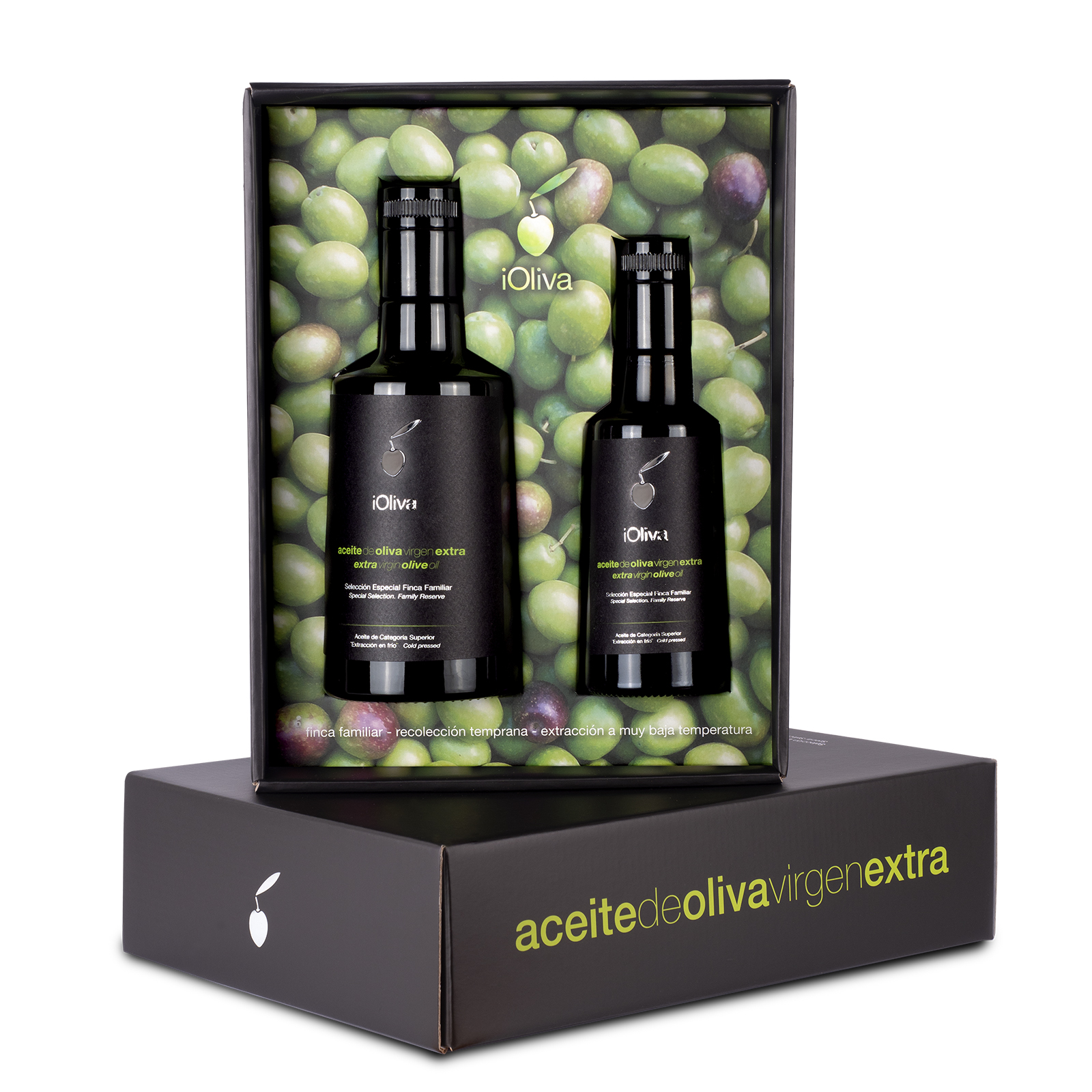 Extra virgin olive oil Premium variety Hojiblanca · gift case 750mL