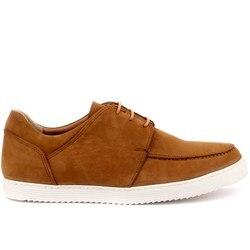 Sail Lakers-zapatos casuales de hombre nobuk Tan