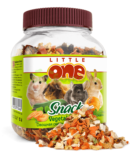 Little One Vegetable Mixture For Rodents (150g)