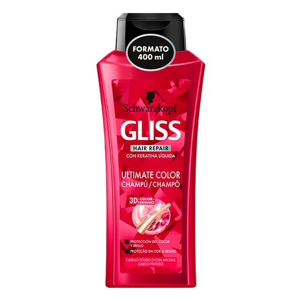 Shampoo For Coloured Hair Gliss Ultimate Color Schwarzkopf (400 Ml)