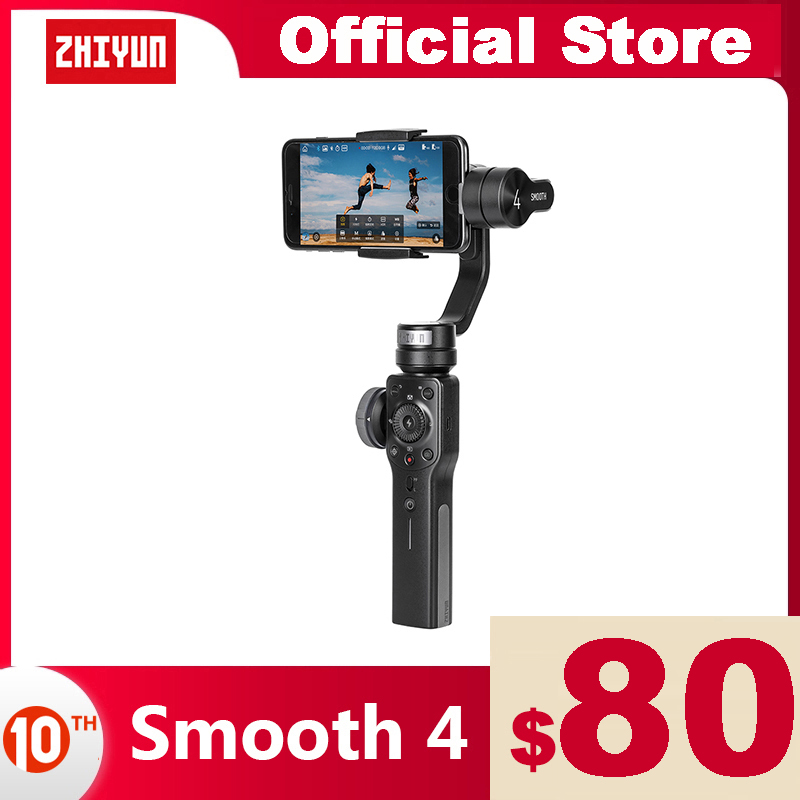 ZHIYUN Official Smooth 4 3 Axis Handheld Phone Gimbal Stabilizer for Smartphones iPhone XS 11 HUAWEI Xiaomi Samsung Galaxy stabilizer phone stabilizer handheldstabilizer 3-axis - AliExpress