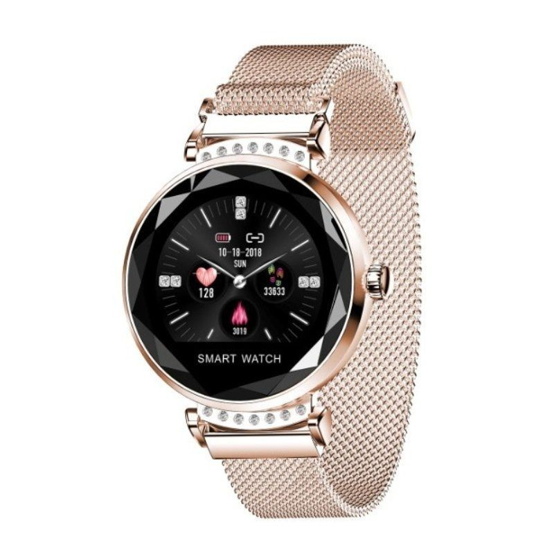 Smart Watch Innjoo Lady Crystal Gold-record Distance-heart Rate-monitoring Sleep-waterproof