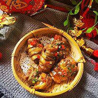 """#美食说出""""新年好""""#新年开运菜:腰缠万贯的做法图解7"""