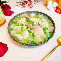 """#美食说出""""新年好""""#羊腿罗卜煲汤的做法图解13"""