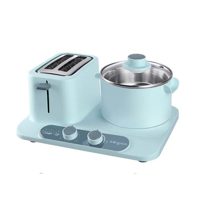 Electric three-in-one toaster Home Mini Electric Steamer, Breakfast Machine 4