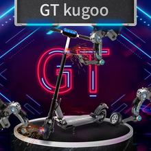 Gts3 kugoos3 electrical kick scooter for adults v 350 W highly effective ultralight lengthy skateboard folding bike