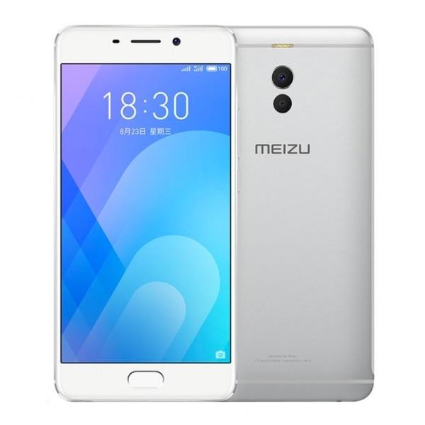 Смартфон Meizu M6 NOTE, 5,5 дюйма, восемь ядер, 32 ГБ, 4 Гб ОЗУ, серебристый