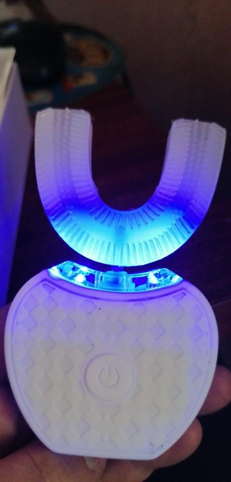 Escova De Dente Elétrica 360 Graus Profissional 100% Original photo review