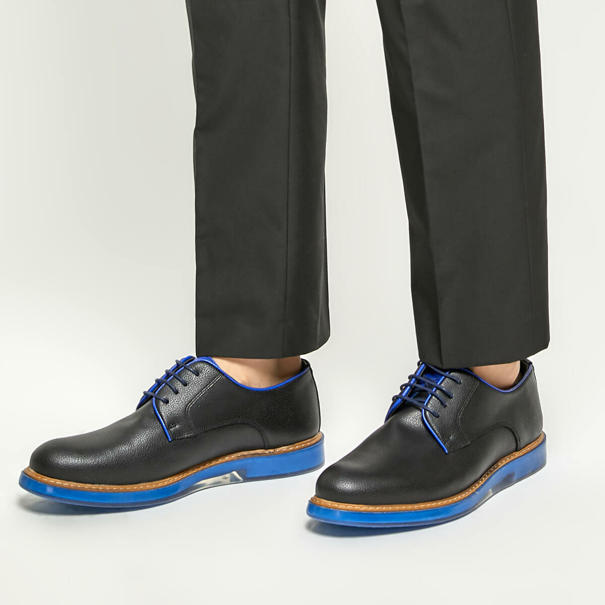 FLO 51535-1 Black Men 'S Classic Shoes-Styles