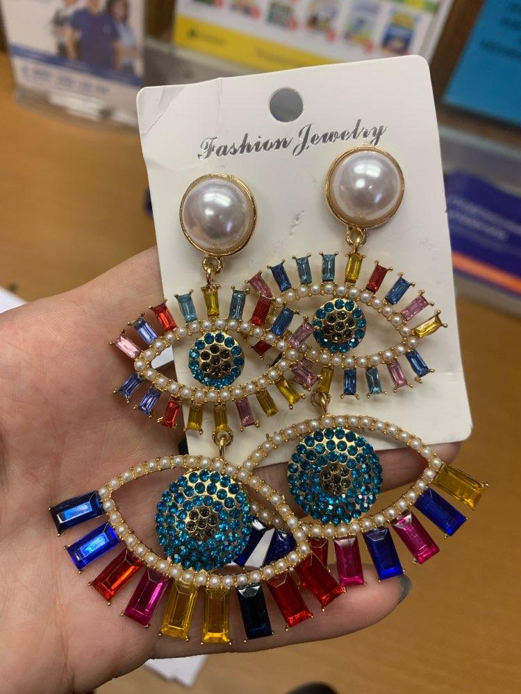 Best Evil Eye Earrings For Women photo review