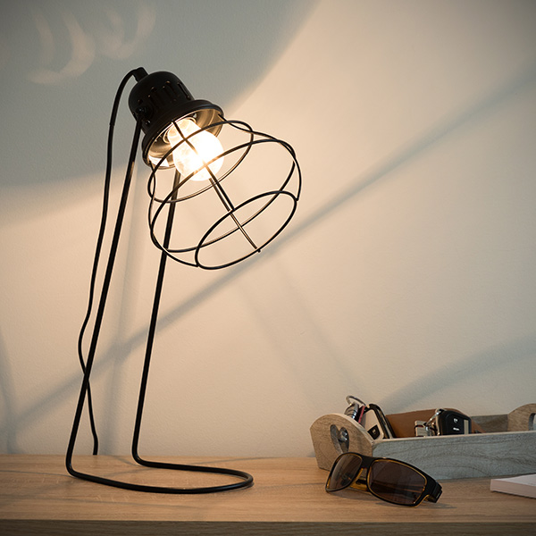 Desk Lamp Industry Metal (16,5 X 41 X 22 Cm)