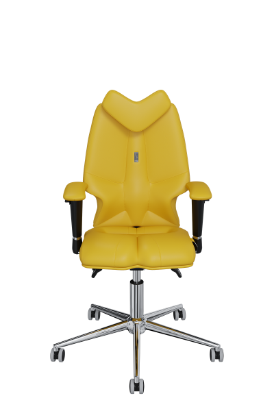 Chair Office KULIK SYSTEM KIDS Yellow For Children And Teenagers Computer Эргономичное 5 Zones Control Spine