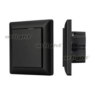 023847 Panel Knob SR-KN0120-IN Graphite (KNX, DIM) Box-1 Pcs ARLIGHT-Управление Light/Lot KNX/^ 83