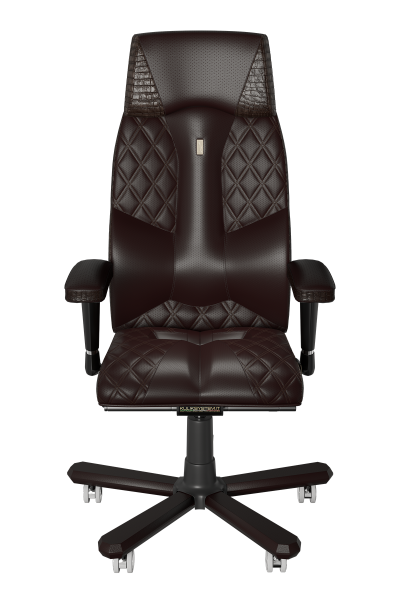 Office Chair KULIK SYSTEM CROCO Brown Elite Ergonomic Chair High Quality Material New Technology Comfort