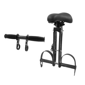 Image 5 - Front Mounted Child mtb Bike Seat for 2 3 4 5 year sold Soft baby seat mountain bicycle frame Quick Release kids saddle parts