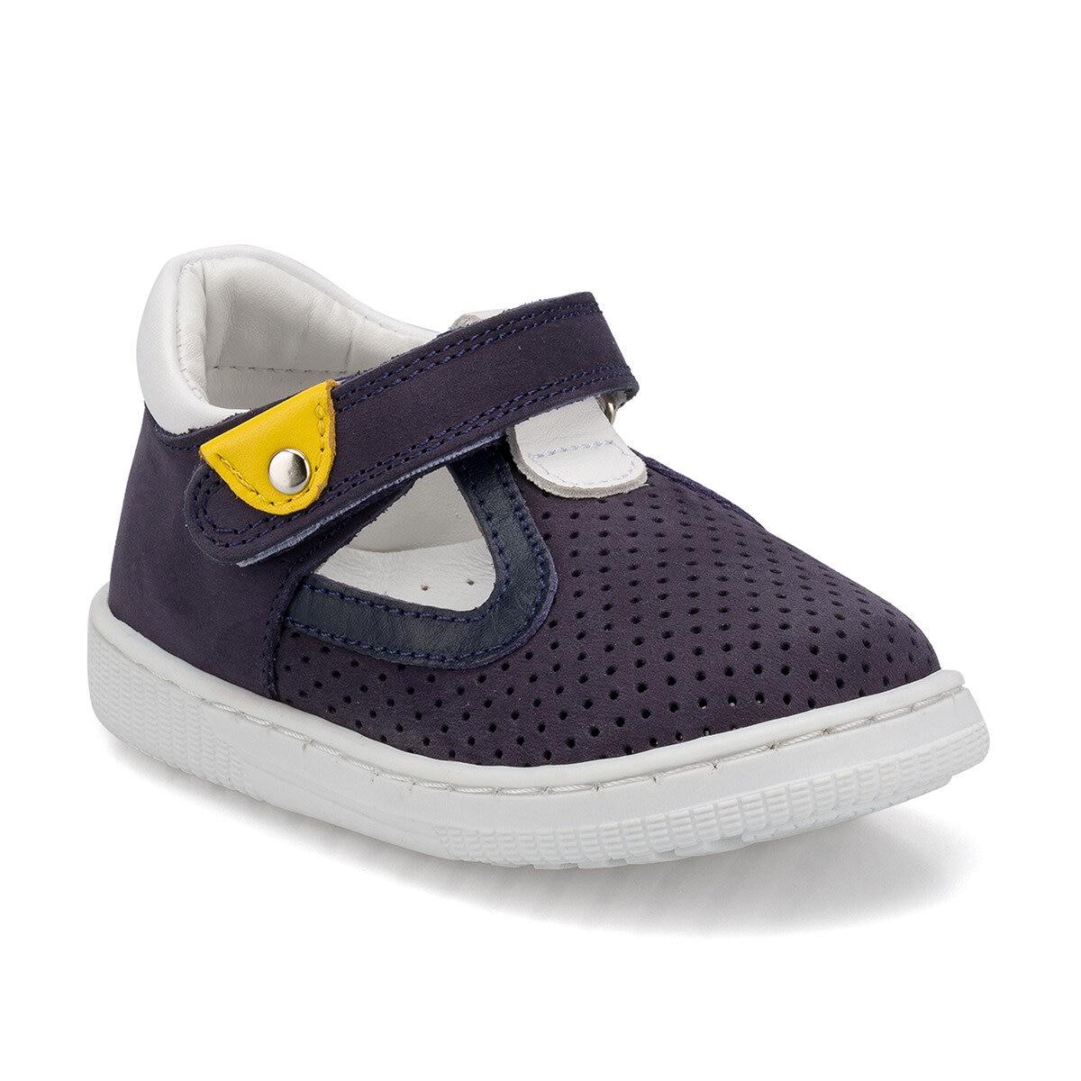 FLO 512529.I Navy Blue Male Child Sneaker Shoes Polaris