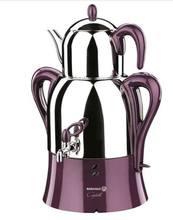 KORKMAZ Caykolik elektrikli türk çaydanlık, çay makinesi, semaver, su ısıtıcısı A341