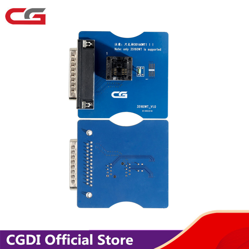 CGPro 35160WT Adapter New Design Interface For 35160WT 35128WT Chip Work With CG Pro 9S12