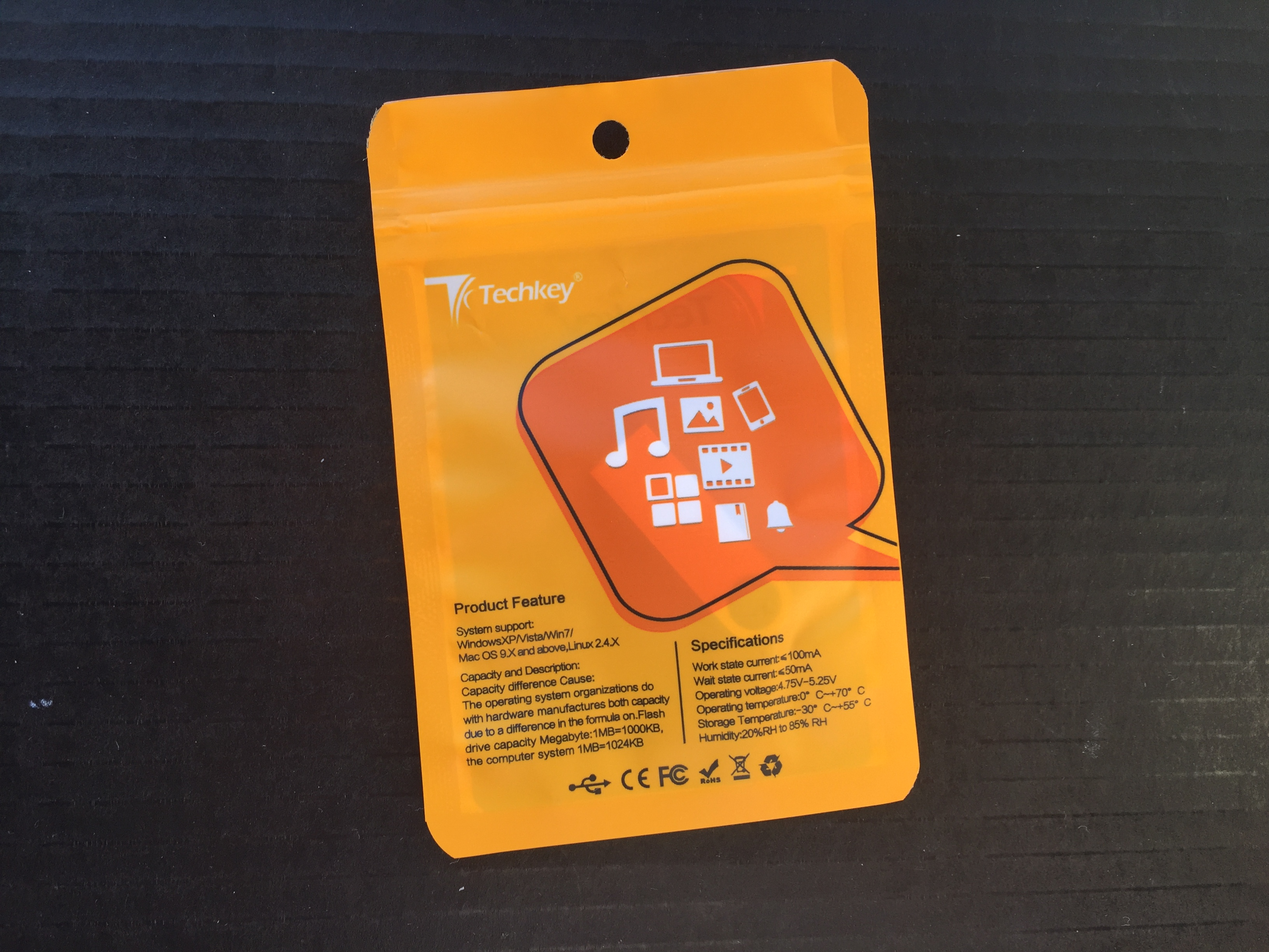 Mini Metal USB Flash Drive photo review