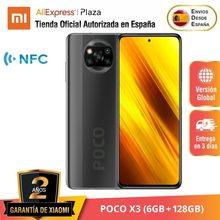 POCO X3 (128GB ROM con 6GB RAM Qualcomm®Snapdragon™732G de Android Nuevo) [Teléfono Móvil Versión Global]