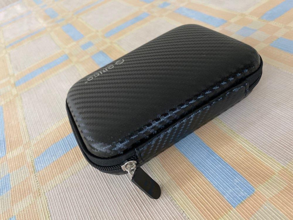 ORICO 2.5 Hard Disk Case Portable HDD Protection Bag for External 2.5 inch Hard Drive Earphone U Disk Hard Disk Drive Case Black reviews №3 144257