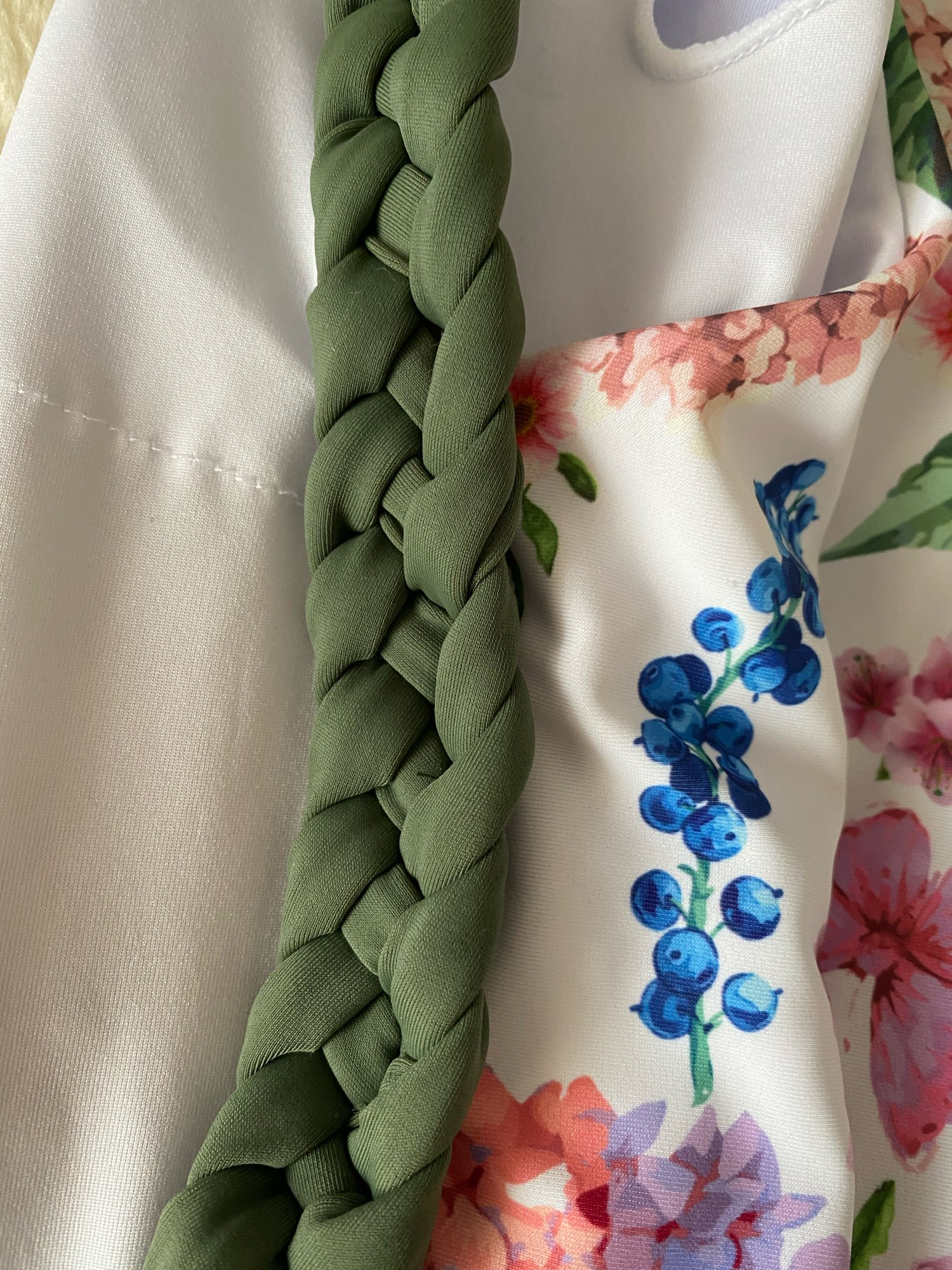 Miyouj 2021 Braided shoulder strap Swimsuit Women'S Beach Elegant Hollow Out Swimwear Women Multi Line Fresh Blue One Piece Suit Body Suits    - AliExpress