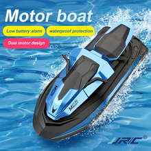 Motorboat Outdoor-Toys Remote-Control Double-Motor Two-Speed JJRC S9 for Boys 1/14 20mins