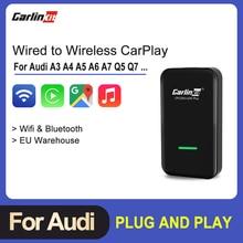 IOS Activato Carlinkit-2.0 E-Tron Audi Q5 Carplay Wireless Sportback Auto for A3 A4 A5