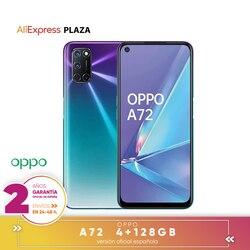[Официальная гарантия испанской версии] OPPO A72 смартфон 6,5 дюймFHD +, 4 жестких ГБ/128 жестких ГБ, Восьмиядерный, задняя камера 48MP + 8MP + 2MP + 2MP 5000 мАч