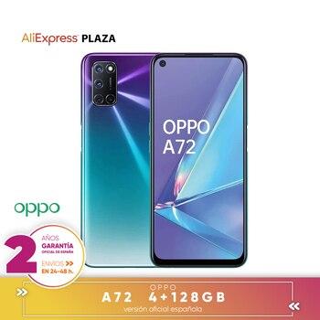 Перейти на Алиэкспресс и купить [Официальная гарантия испанской версии] OPPO A72 смартфон 6,5 дюймFHD +, 4 жестких ГБ/128 жестких ГБ, Восьмиядерный, задняя камера 48MP + 8MP + 2MP + 2MP 5000 мАч