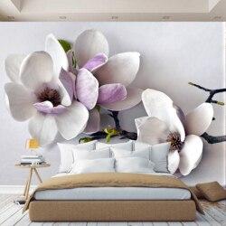 3D Foto Behang Bloemen in de kamer, behang, hal, keuken, slaapkamer, kinderen, foto behang verbeteren ruimte