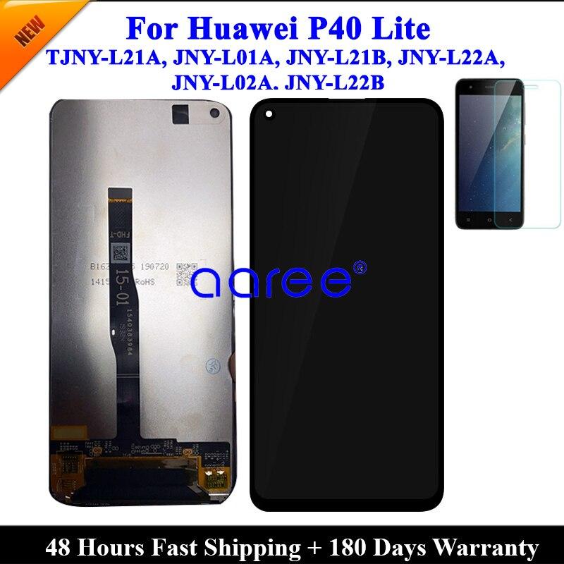 Протестированный ЖК-экран для Huawei P40 Lite, ЖК-экран для Huawei P40 Lite, ЖК-экран с сенсорным дигитайзером в сборе