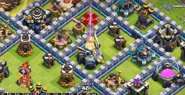 部落冲突:天鹰火炮机制遭隐藏,玩家:一个开大的蛮王抗下所有插图(1)