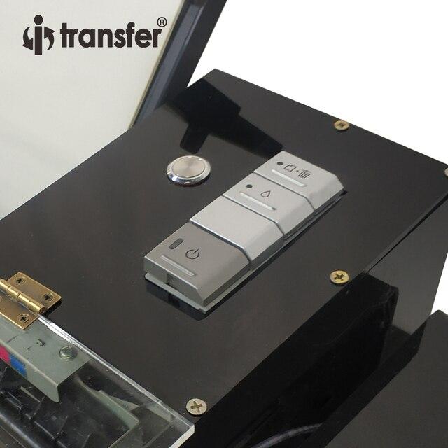 White Ink Circulation Stirring System DTF Printer PET Film Textiles Ink Hot Melt Powder Transfer Printing DTF A3 Printers Kit 4