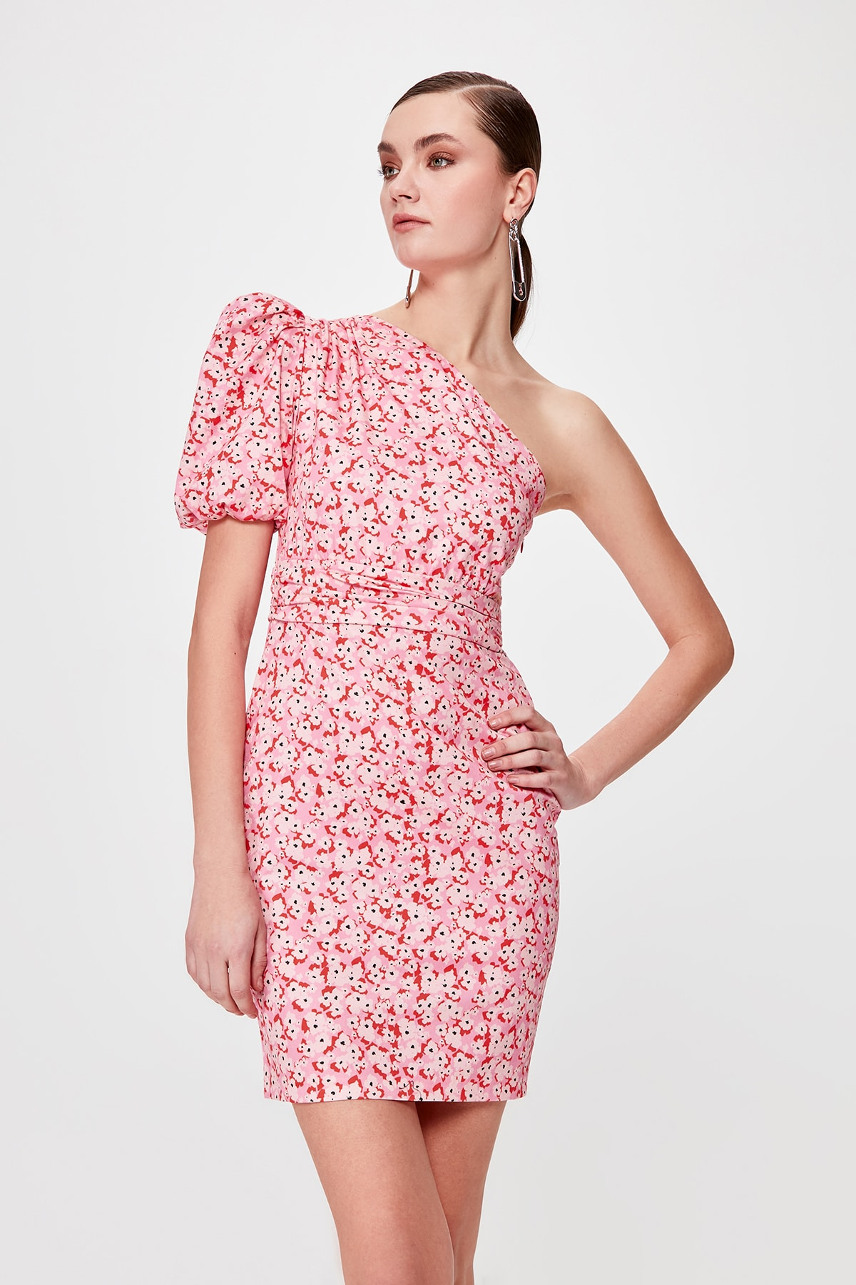 Trendyol Rib Detail Dress TPRSS20EL0287