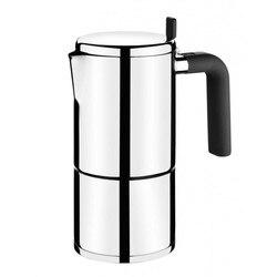 Coffee maker bali bra a170401 - 4 cups-stainless steel 18/10-ergonomic handle Bakelite-modern design