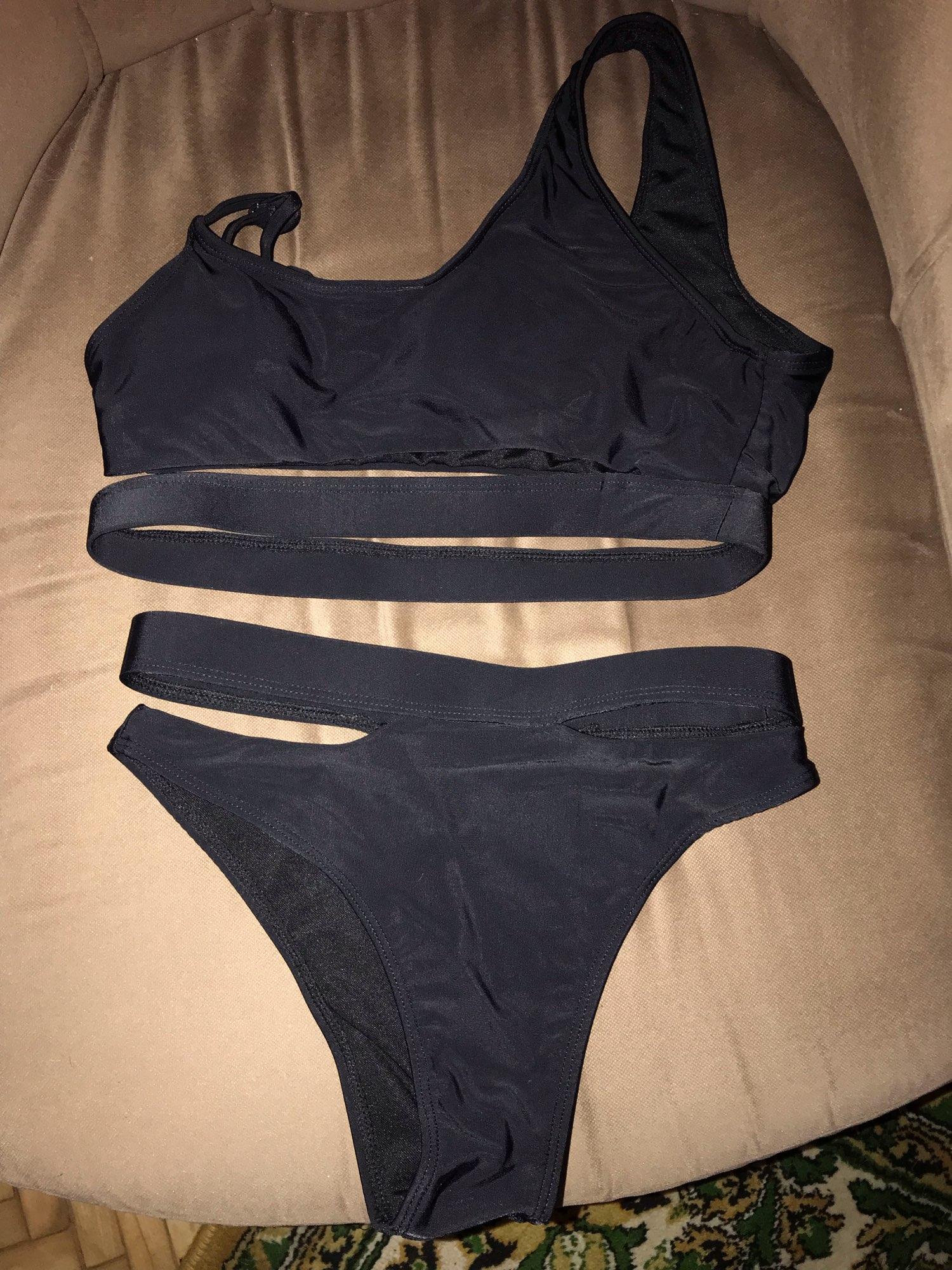Sexy Bikini Female Swimsuit High Waist Swimwear 2021 Women Swimwear Two Pieces Bikini Set Solid Bather Bathing Suit Swim|Bikini Set|   - AliExpress