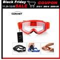 CARCHET Motocross Occhiali Occhiali Occhiali Da Moto Enduro Off Road Hemlet Antivento Occhiali Occhiali Lenti Chiare Nero Blu Arancione-in Occhiali da moto da Automobili e motocicli su
