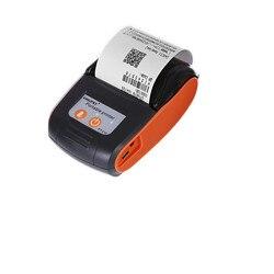 GOOJPRT drukarka termiczna o małych rozmiarach przenośne drukarki biletów pokwitowań mobilna kieszeń na androida 58mm Bluetooth świąteczne prezenty świąteczne