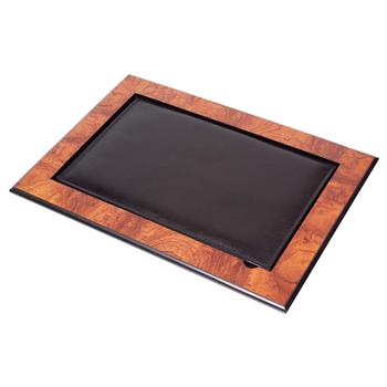 Skóra i drewniane biurko Pad z pokrywą na biurko zestawy (organizer na biurko akcesoria biurowe) tanie i dobre opinie Güner Ofis Drewna L WDESKPAD