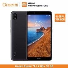 النسخة العالمية Xiaomi Redmi 7A 32 GB ROM 2 GB RAM (العلامة التجارية الجديدة و مختومة) 7a 32 gb